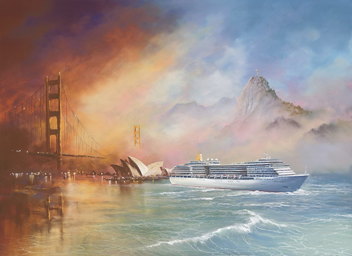 Voyage of Memories - Arcadia 2013 by Philip Gray -  sized 20x15 inches. Available from Whitewall Galleries
